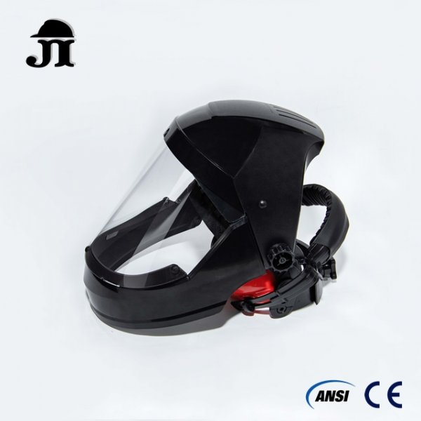 JF509+JV591+JE201,Clear Full Face Protector combo set with ear muff