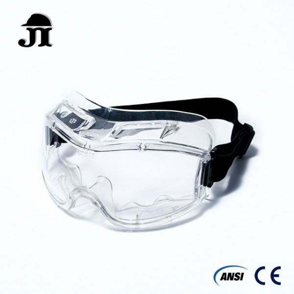 Direct Safety Goggles Direct Ventilation Soft Flexible PVC Frame Quality